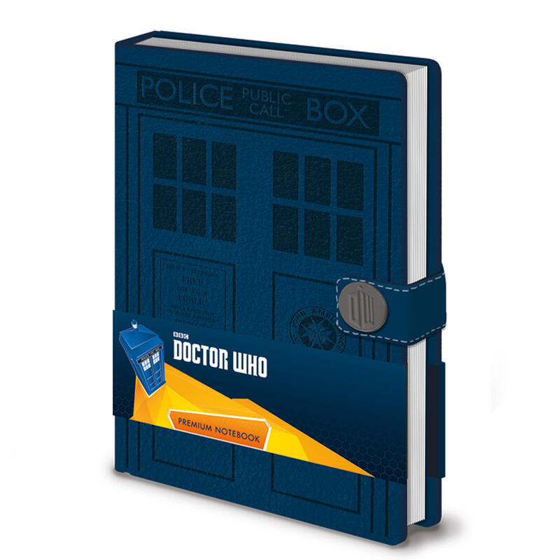 afea98e82a Σημειωματάριο Α5 Tardis (Doctor Who) - Pyramid  SR72167